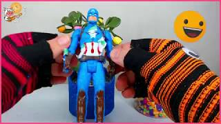 capitan america grows like a tree   educational video for children