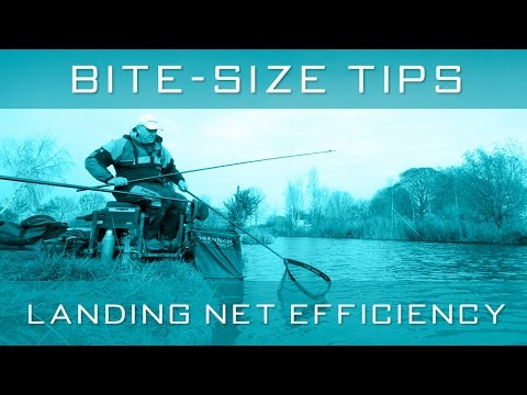 Bite-Size Tips: Landing Net Efficiency