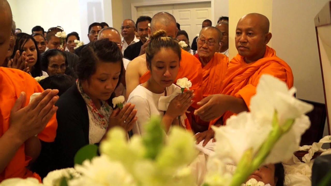 A Buddhist Funeral Service for the late Mrs  Muoyky Eam, 2 of 4