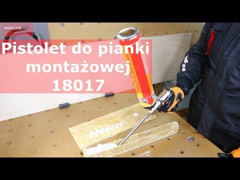PROLINE: Pistolet Do Pianki Montażowej | 18017