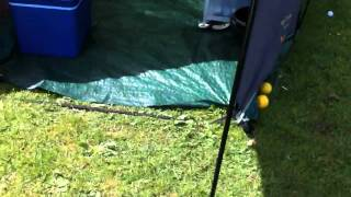 Camping at East Creech Farm 2011