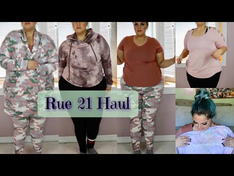 Rue 21 Haul | Plus Size Gym Clothes