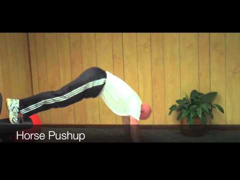Image result for HORSE PUSH-UP exercise