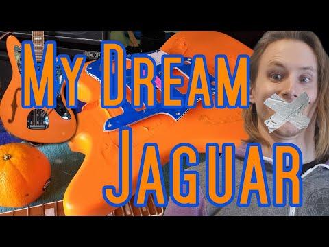 DIY Jaguar Guitar Build Adventure | No Talking (+new Song)