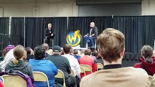 Matt Ryan (Constantine) Panel at Wizard World Madison