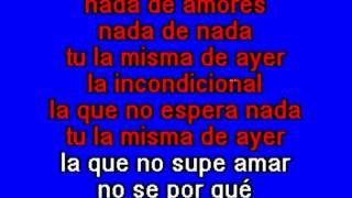 Luis Miguel - La Incondicional - Karaoke