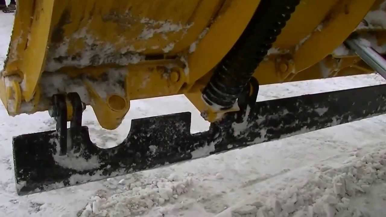 Fisher Snow Plow Back Drag Plate Youtube