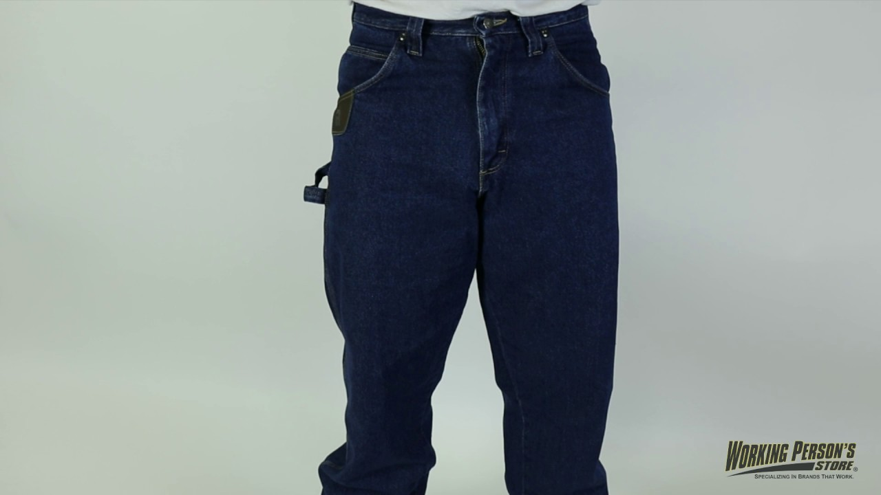 e8cce44c Riggs Workwear 3W020DK 10-Ounce Ripstop Relaxed Fit Jeans