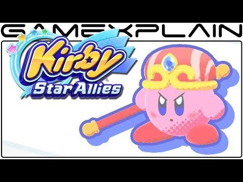 Kirby Star Allies - All Powers & Friend Abilities