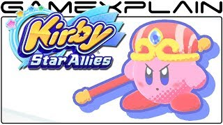 Kirby Star Allies - All Powers & Friend Abilities
