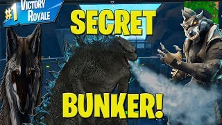 Fortnite PRESSURE PLANT SECRET BUNKER LIVE! Fortnite NEW Secret bunker OPEN LIVE!!