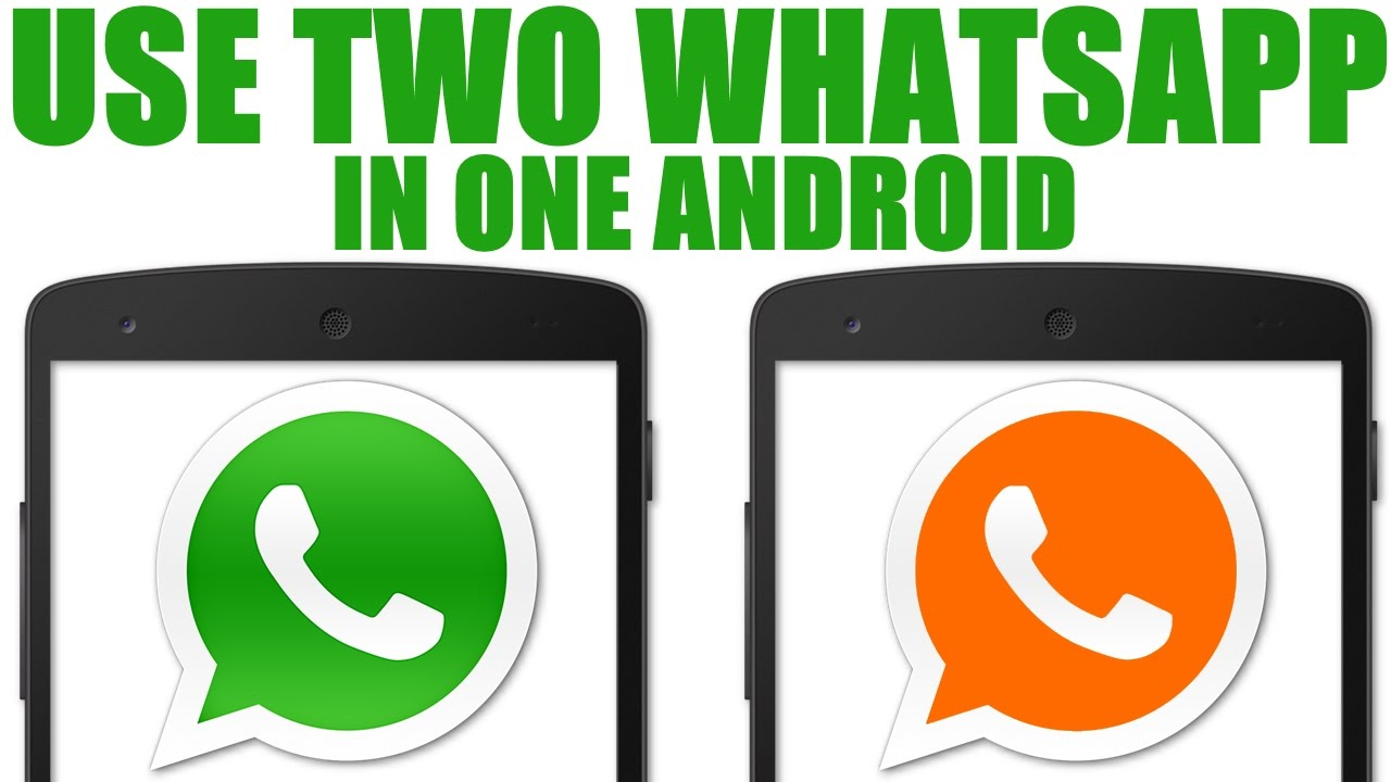 How can I use two WhatsApp accounts with the same number on different devices? 1