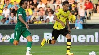 Aubameyangs erstes Tor! - Dortmund gegen Bursaspor - SPORT1