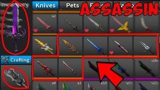 ICH HABE ALLE NEUEN KNIVES! (Roblox-Attentäter)