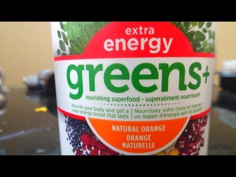 Greens + Extra Energy