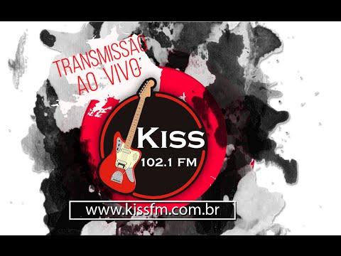 ROCK A 3 - KISS FM 102,1  (( TRANSMISSÃO AO VIVO  ))