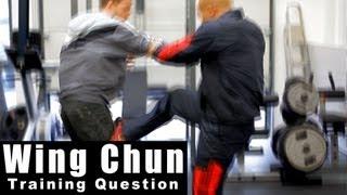 Wing Chun training - wing chun how effective is the triple kick? Q15