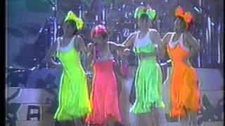 """REBECCA (レベッカ) """"76th Star"""" 大阪マリンフェス'87 のステージにて."""