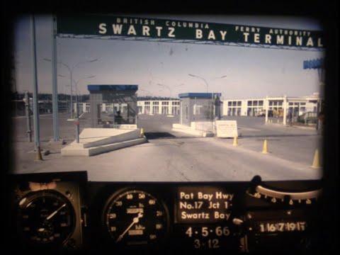 BC Road Trip Time Machine, Highway 17 - Victoria to Swartz Bay, 1966
