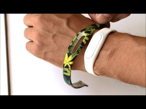 Colorful Silicone Wrist Strap For Xiaomi Mi Band 2