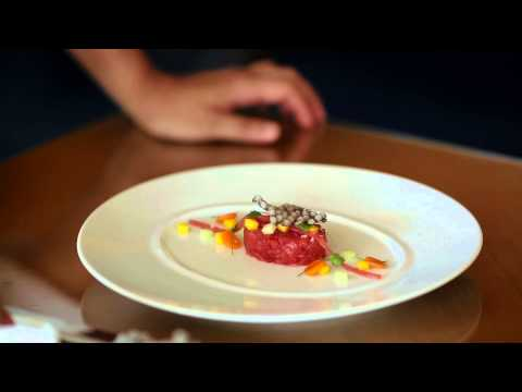 The Ritz-Carlton Grand Cayman - Fresh Tuna & Tropical Fruits