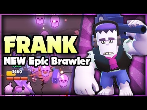 NEW EPIC BRAWLER FRANK! - Brawl Stars Update Sneak Peek!