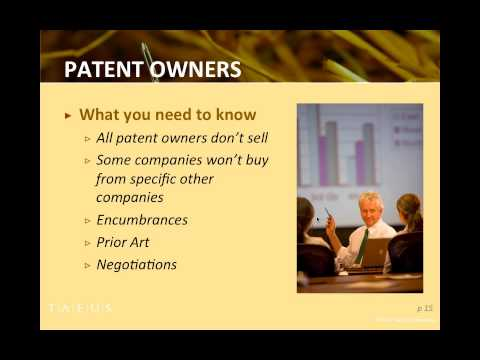 Finding the Gems: Identifying and Acquiring the Best Patents