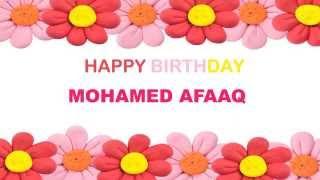 MohamedAfaaq   Birthday Postcards & Postales - Happy Birthday
