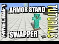 Minecraft PS4 - ARMOR STAND SWAPPER - How To - Tutorial ( PS3 / XBOX ) WII
