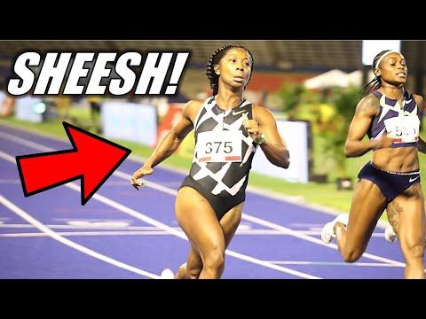 Shelly-Ann Fraser-Pryce DESTROYS Field!! || The 2021 Jamaican Olympic Trials 100 Meter Breakdown