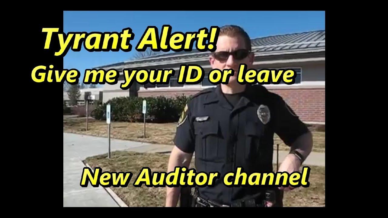 Tyrant Alert and New Auditor - Coeur D'Alene Idaho Police