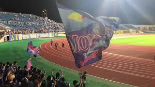 天皇杯 3回戦 モンテディオ山形vs柏レイソル BLUEis 県民歌.
