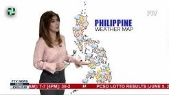 PTV INFO WEATHER: ITCZ, patuloy na magpapaulan sa bansa