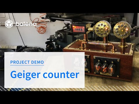 Raspberry Pi-powered steampunk-inspired Geiger counter