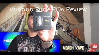 Voopoo Rune RDA - Review and thoughts