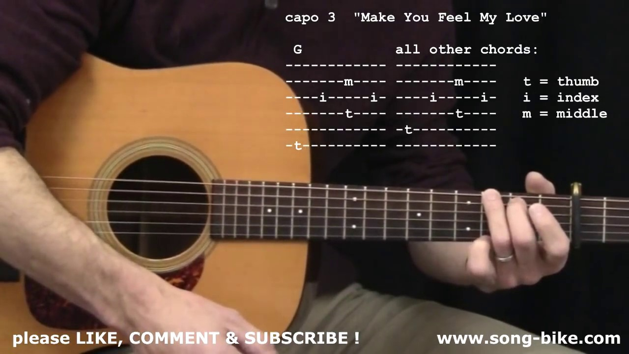 Make You Feel My Love By Bob Dylan 365 Riffs For Beginning Guitar