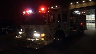 Denver Fire Engine 8 & EMS Responding