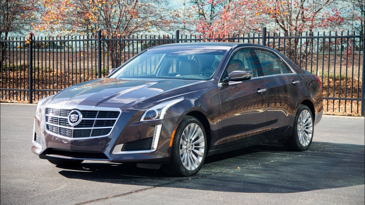 2014 Cadillac CTS AWD 2.0T Luxury - WR TV Walkaround - YouTube