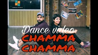 Chamma Chamma Dance Choreography Video - Fraud Saiyaan | Elli AvrRam, Arshad | Dance Cover performan