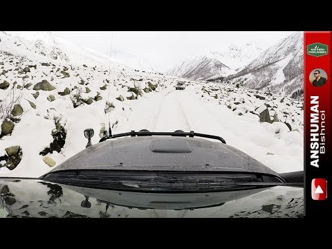 Snow drive beyond Chitkul | Himachal Explored in 4x4's: Travelogue Part 1
