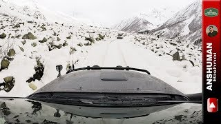 Snow drive beyond Chitkul | Himachal Explored in 4x4