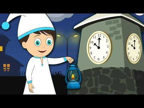 Wee Willie Winkie Poem | English Animated Story Poem for kids