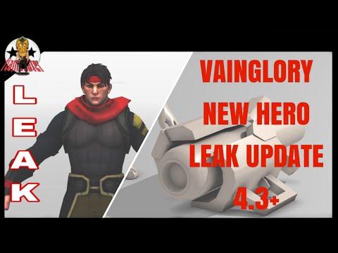 VAINGLORY NEW HERO LEAK UPDATE 4.3+ | FlameEater
