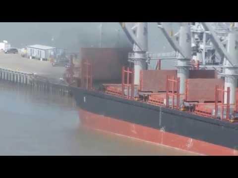 Smoking hold on bulker, ID Black Sea