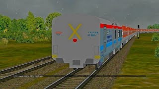 Train Moving Without Engine | Major fault & Acc...