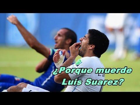 ¿Por que muerde Luis Suarez? Historial de Mordidas (Minidocumental - HD)