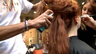 Backstage with Moroccanoil: Fashion Week Spring/Summer 2013
