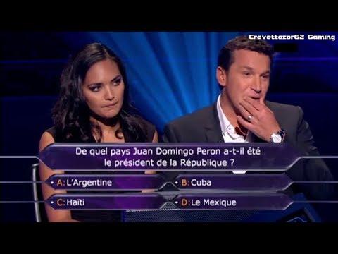 Qui Veut Gagner Des Millions (QVGDM) - 03/02/2012 - Valérie Bègue et Benjamin Castaldi