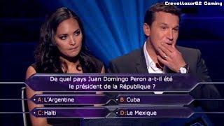 Qui Veut Gagner Des Millions - 03/02/2012 - Valérie Bègue et Benjamin Castaldi