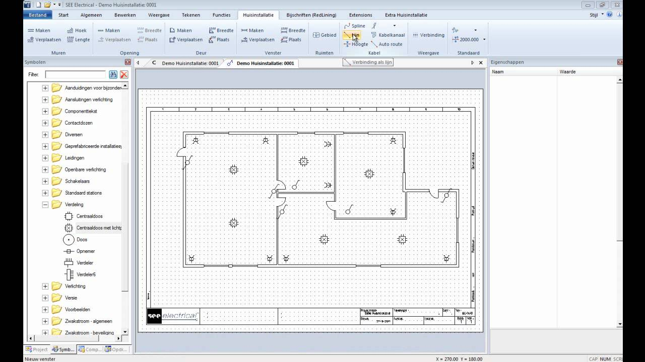SEE Electrical V6 Building Standard DEMO - YouTube